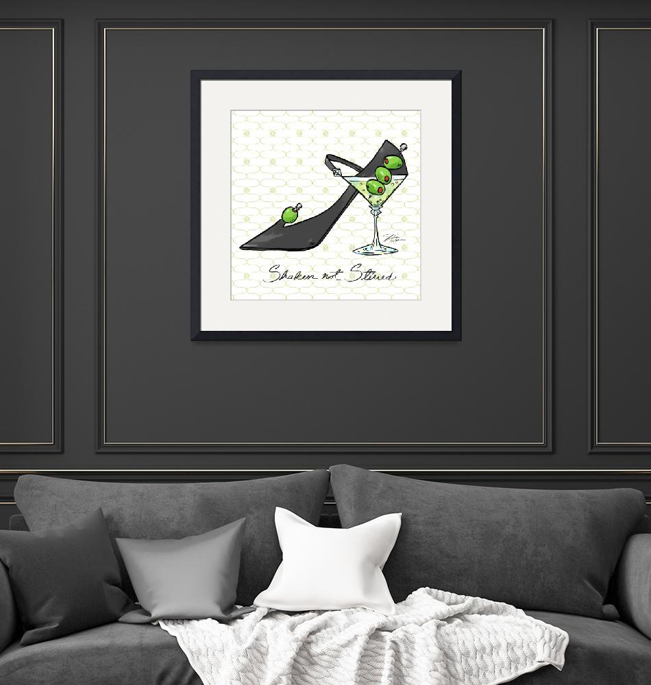 """""""Cocktail Shoes Martini""""  (2011) by shariwarren"""