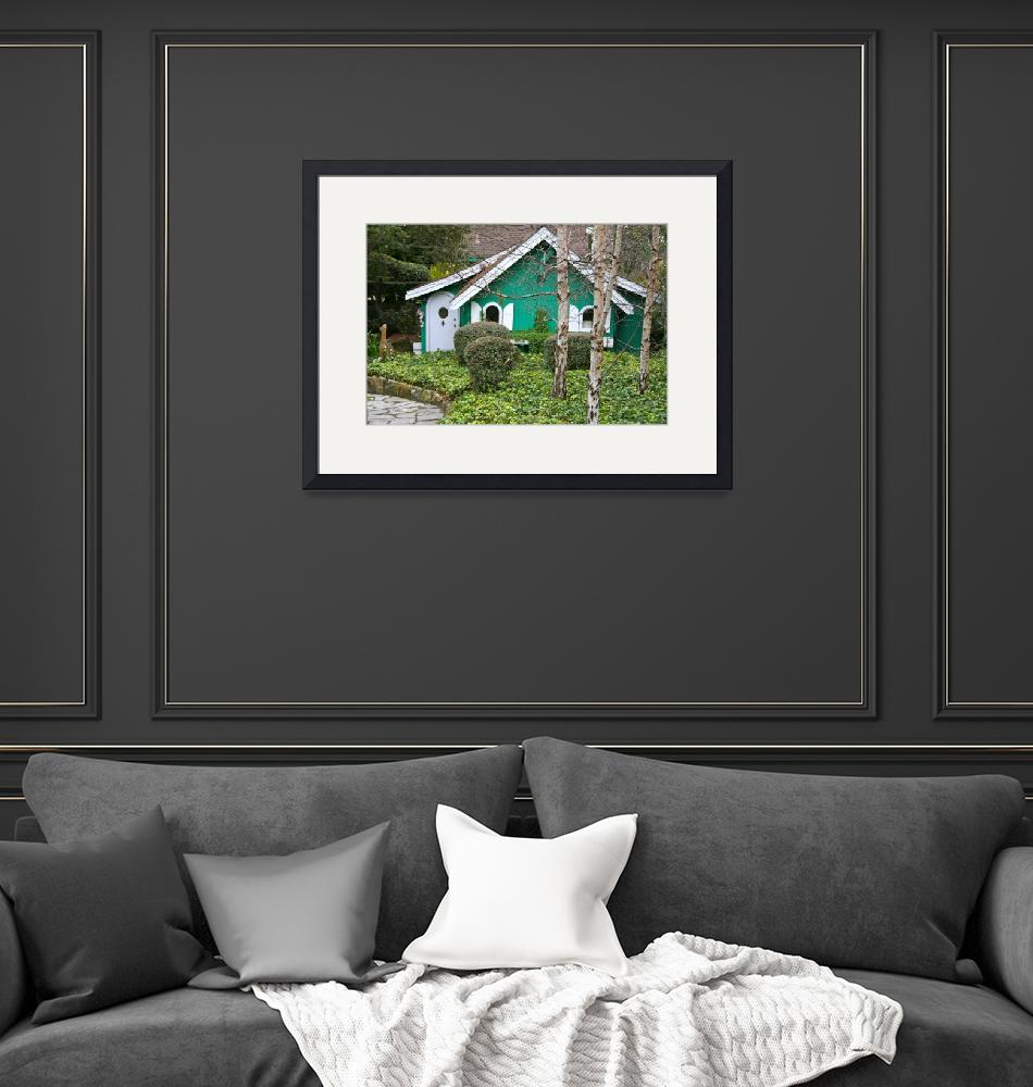 """""""The Little Green Cottage""""  by LindaYvonne"""