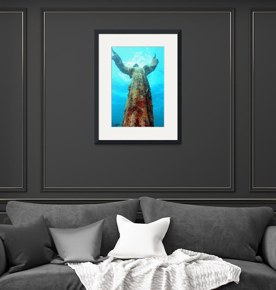 """""""Christ of The Abyss""""  (2009) by TLTracyPhotography"""