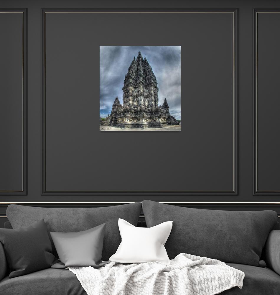 """Prambanan temple""  (2013) by Egitu"