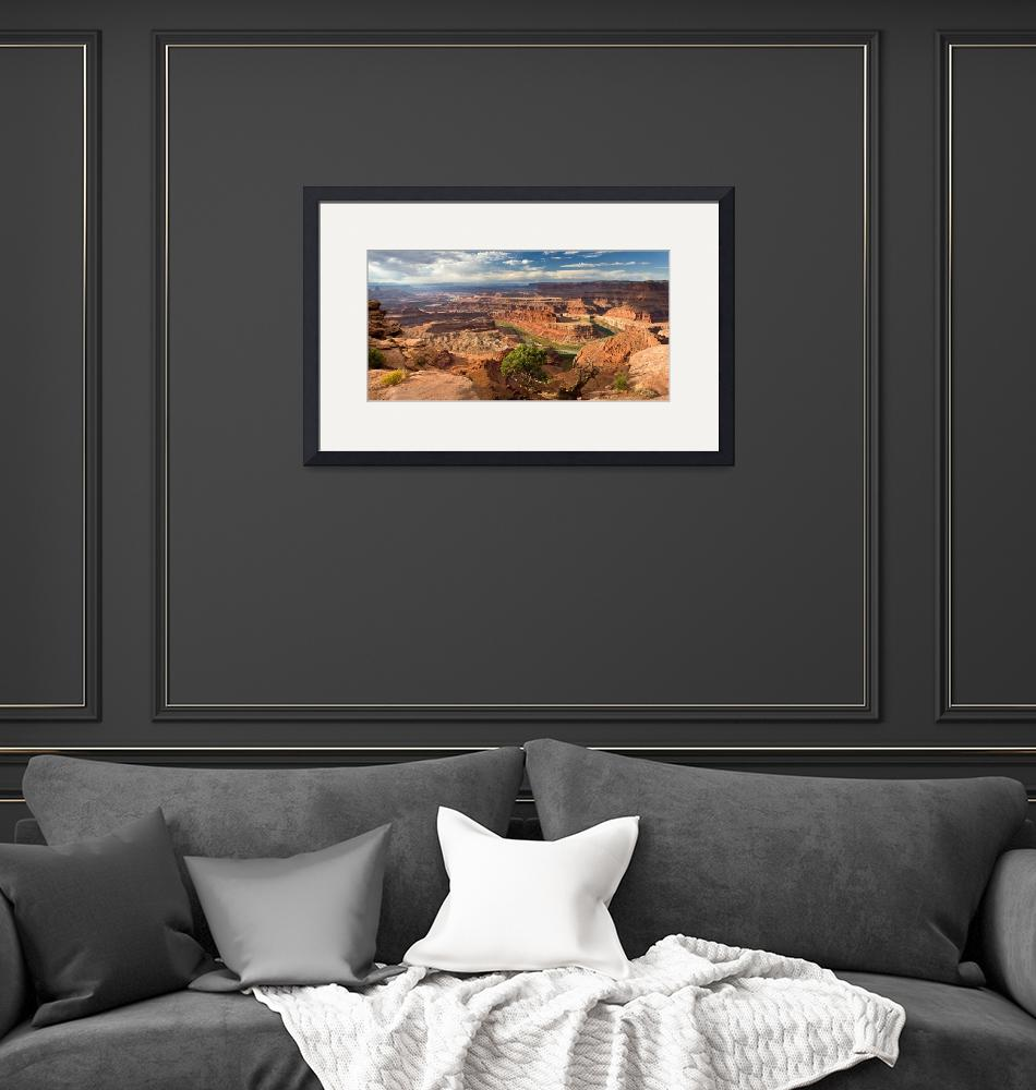 """Dead Horse Point Panorama""  (2008) by pbk"
