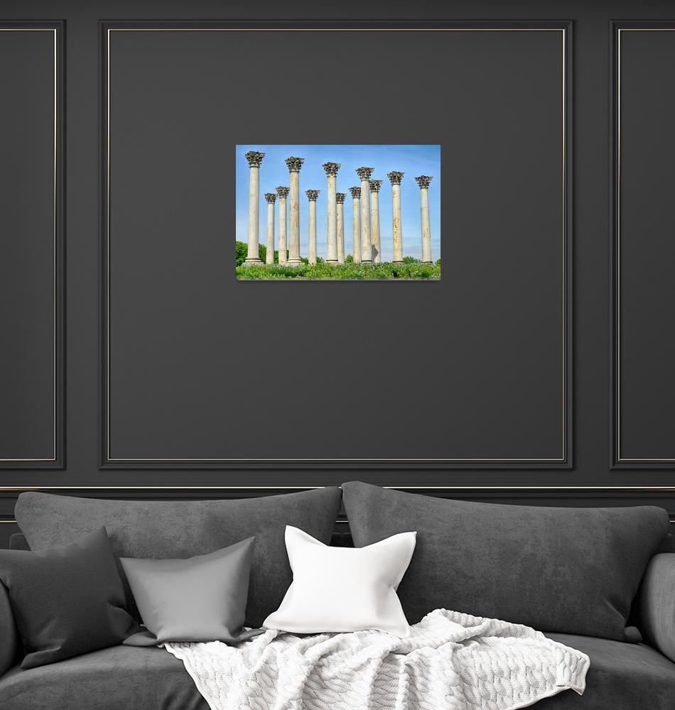 """""""Capitol Columns""""  (2013) by PaulCoco"""