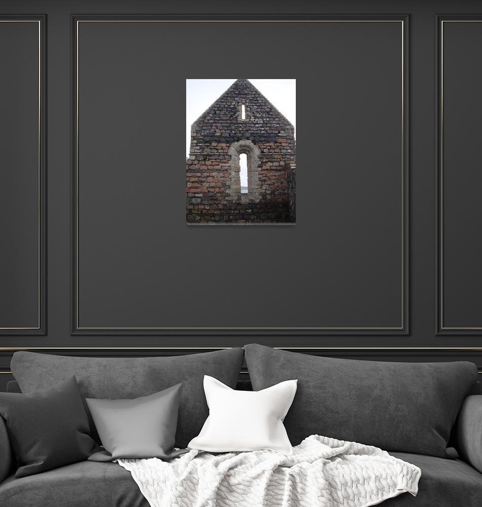 """Iona Convent Ruins 9""  (2010) by StevenHorst"