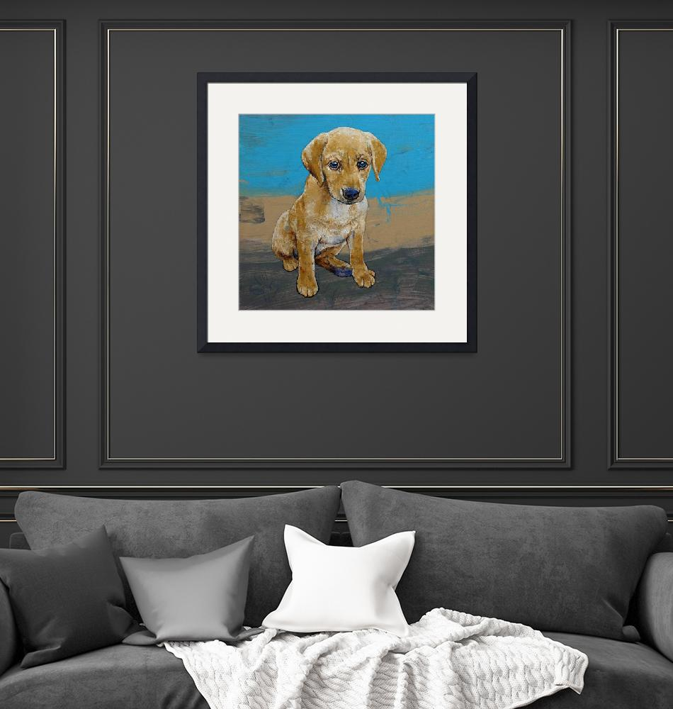 """""""Yellow Lab Puppy""""  by creese"""