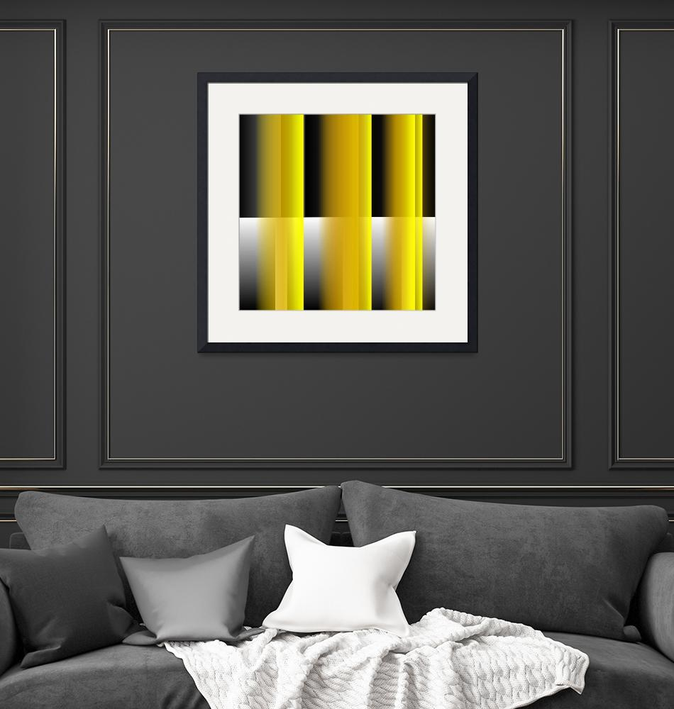 """""""Yellow Reflections""""  (2014) by CJMoy"""