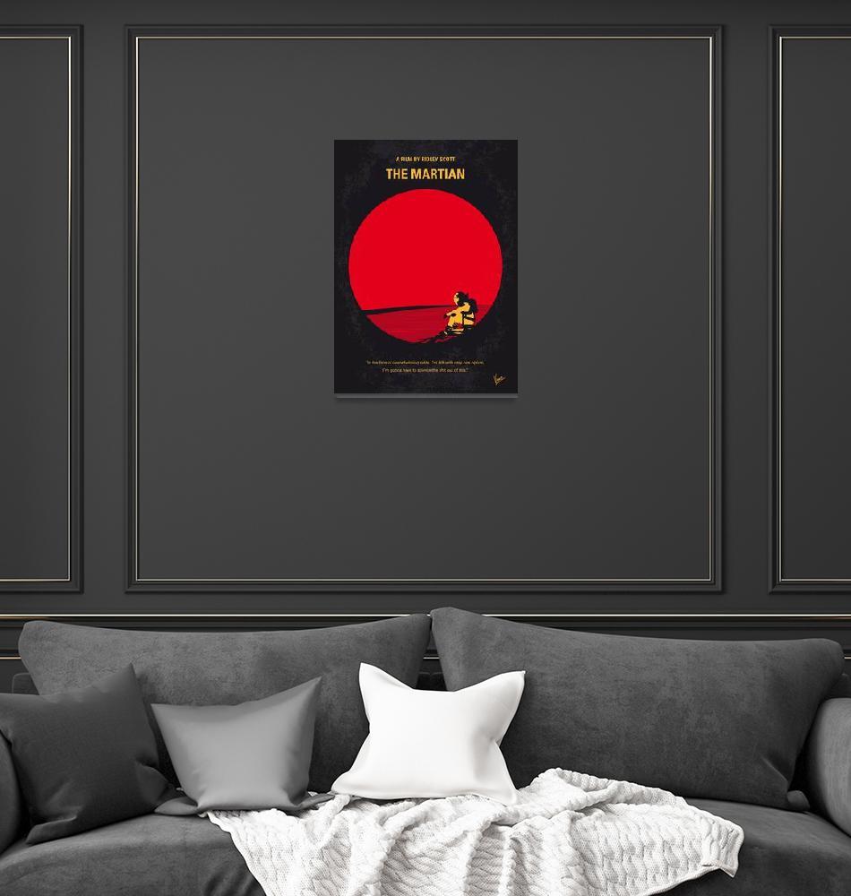 """No620 My The Martian minimal movie poster""  by Chungkong"