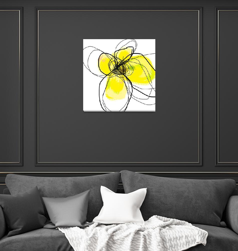 """Yellow Petals 2""  (2009) by TuesdayMoon"