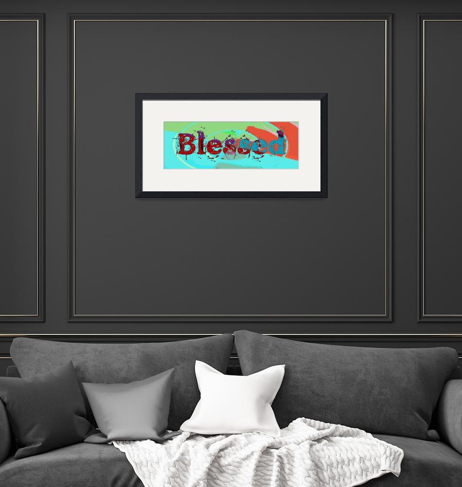"""""""blessed old print multi color swirl""""  by lizmix"""