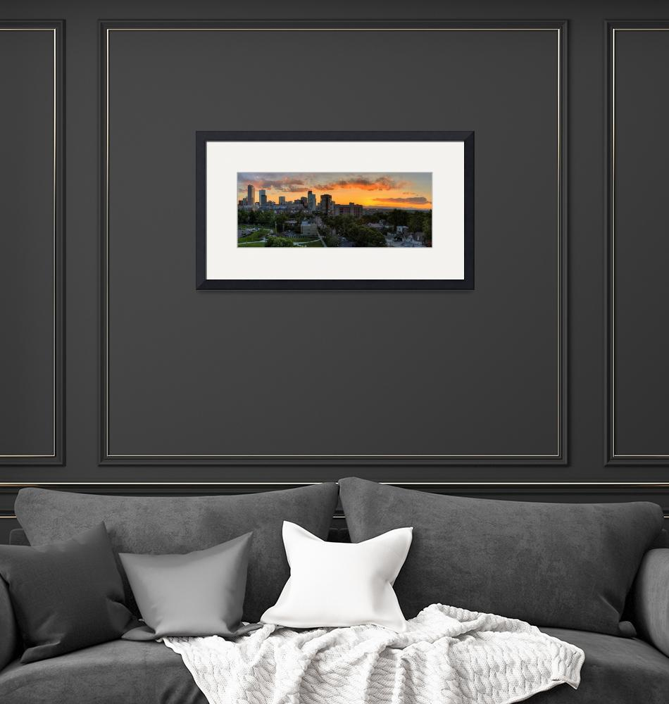 """""""Uptown sunset (Pano)""""  by alexbenison"""