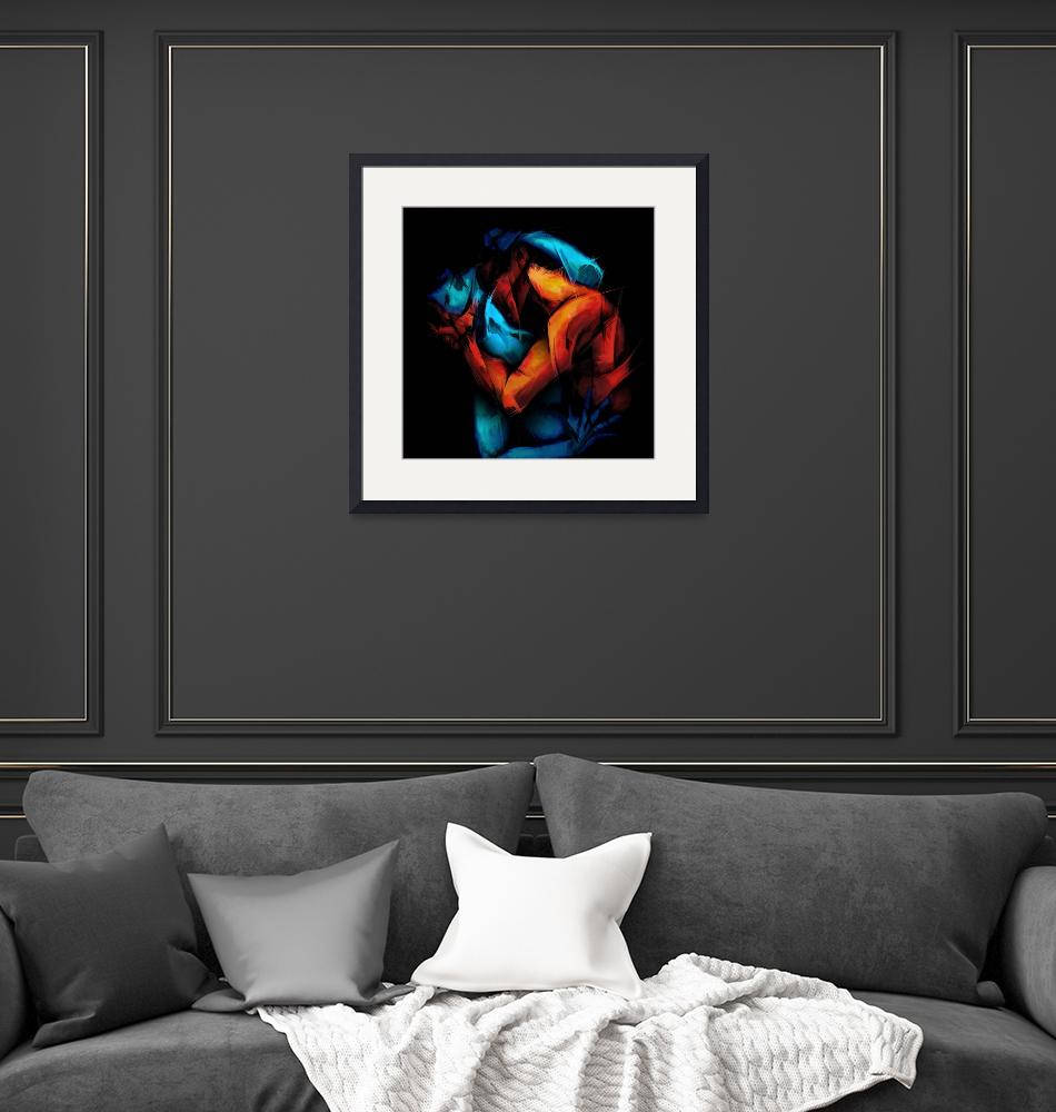 """""""lovers1""""  (2010) by jaywilloughby"""