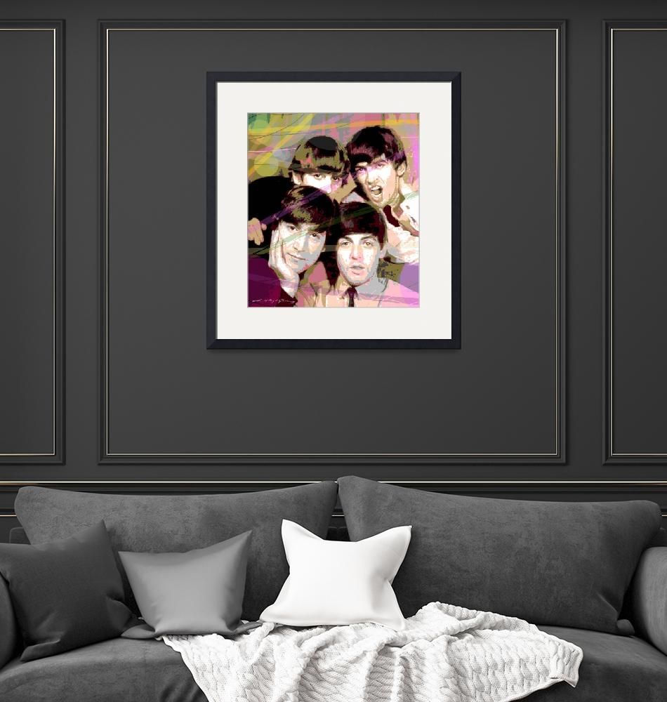 """""""THE FAB FOUR"""" (2020) by DavidLloydGlover"""