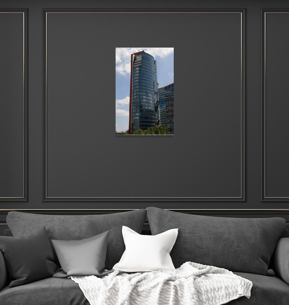 """Andromeda Tower Vienna, Austria""  (2010) by wolf_m"
