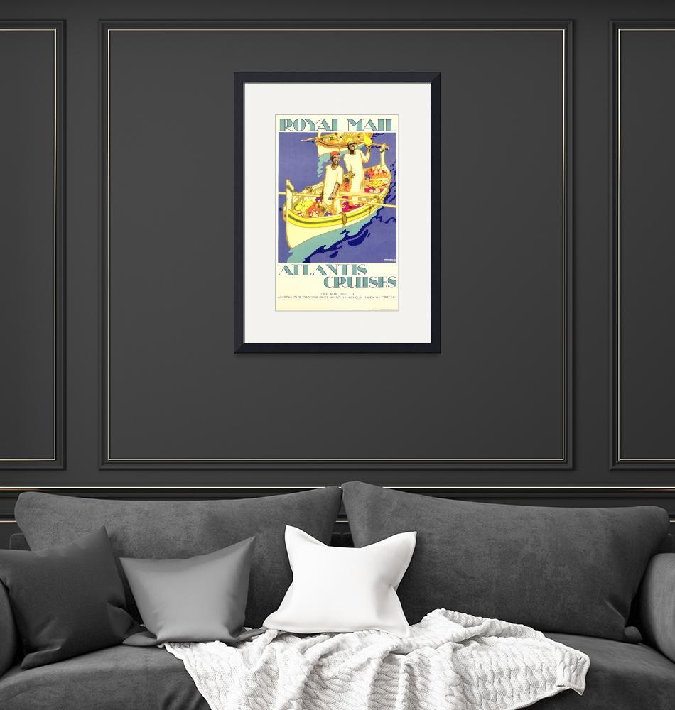 """""""Royal Mail Vintage Travel Poster""""  by FineArtClassics"""