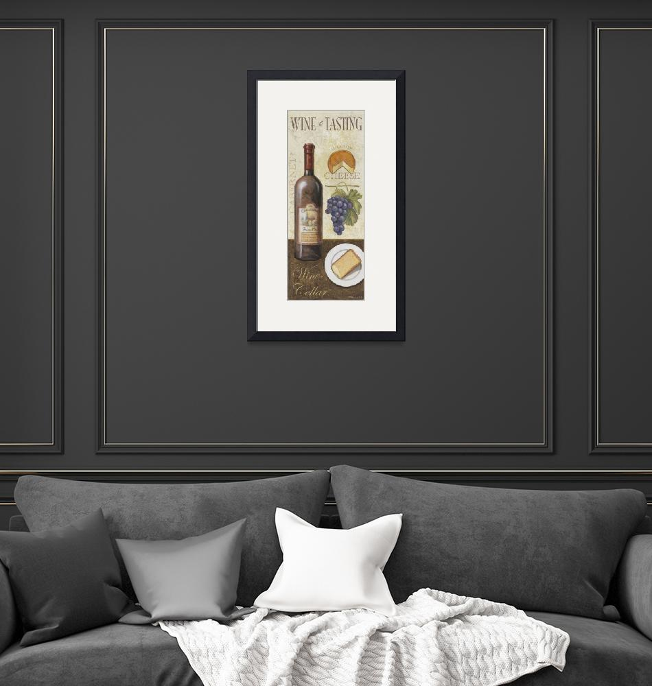 """""""Wine And Cheese I""""  by artlicensing"""
