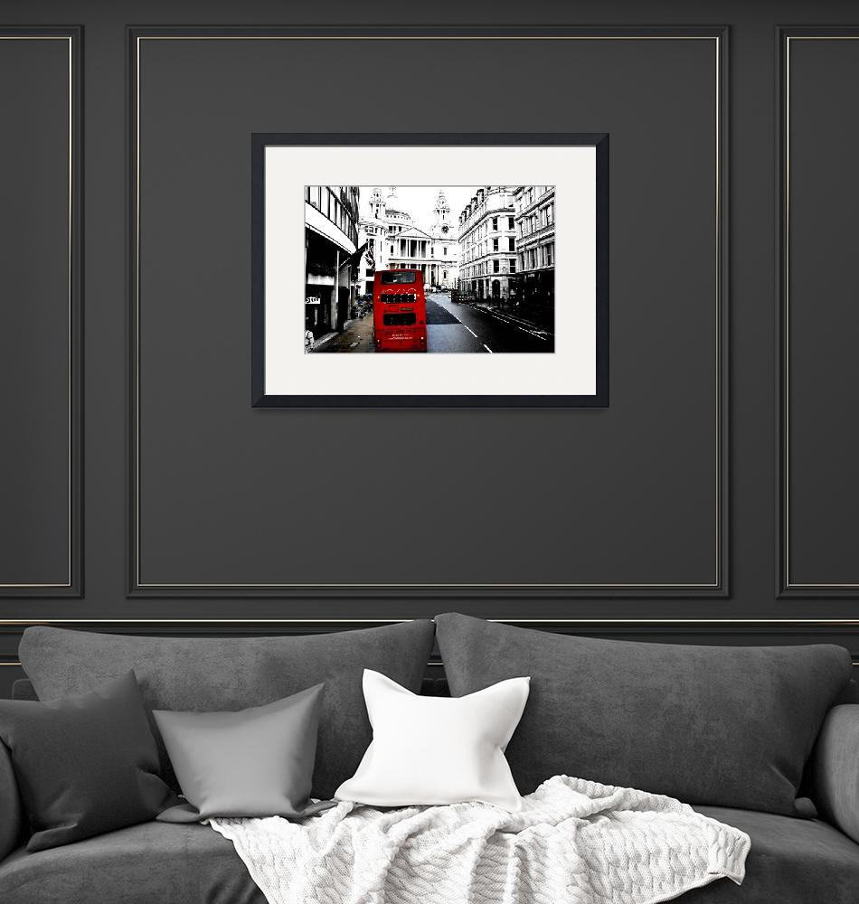 """""""London Bus""""  (2010) by esinphotography"""