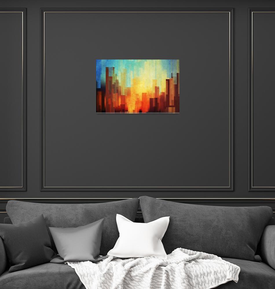 """Urban Sunset""  (2013) by DejaReve"