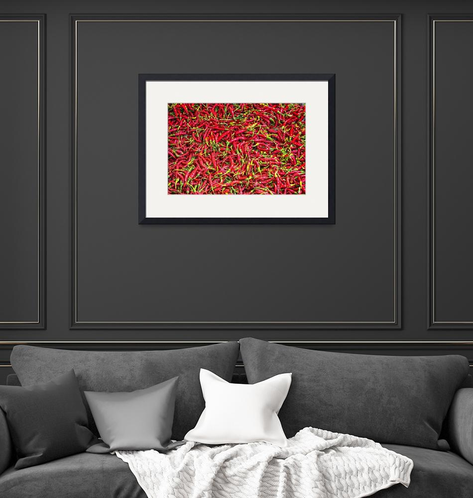 """""""Red chillies""""  (2016) by Charuhas"""