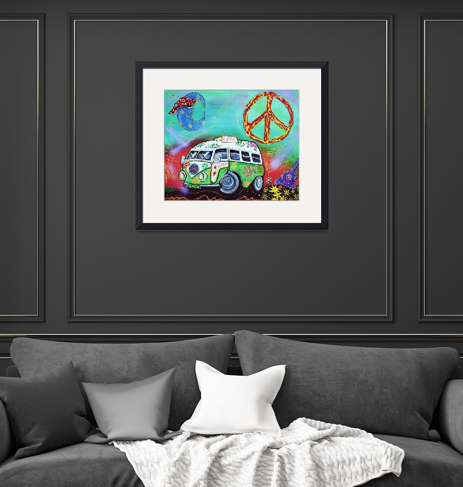 """Hippie Trip""  (2015) by ArtPrints"
