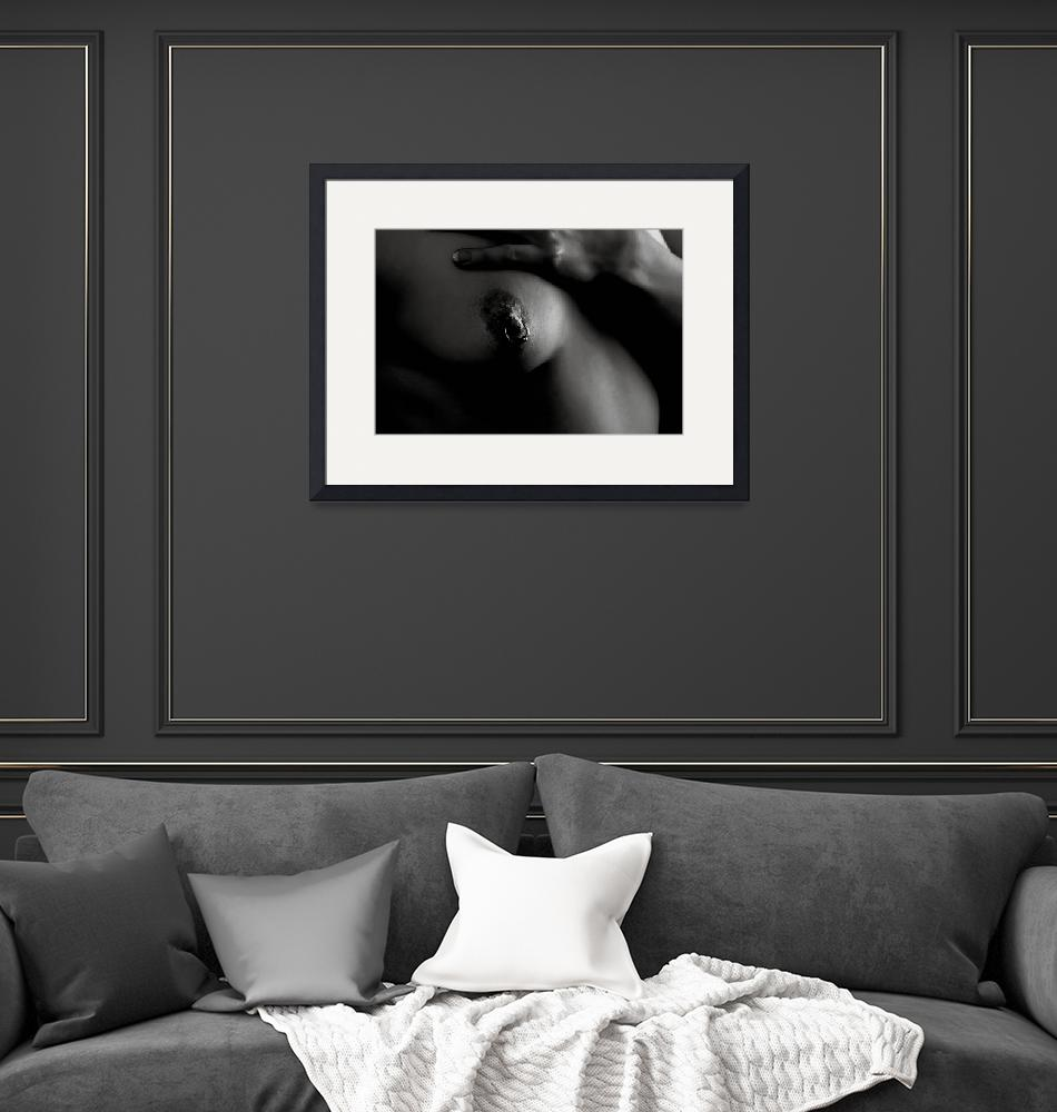 """""""The Nipple Ring in Black and White Nude1007.1""""  (2013) by KendreeMiller"""