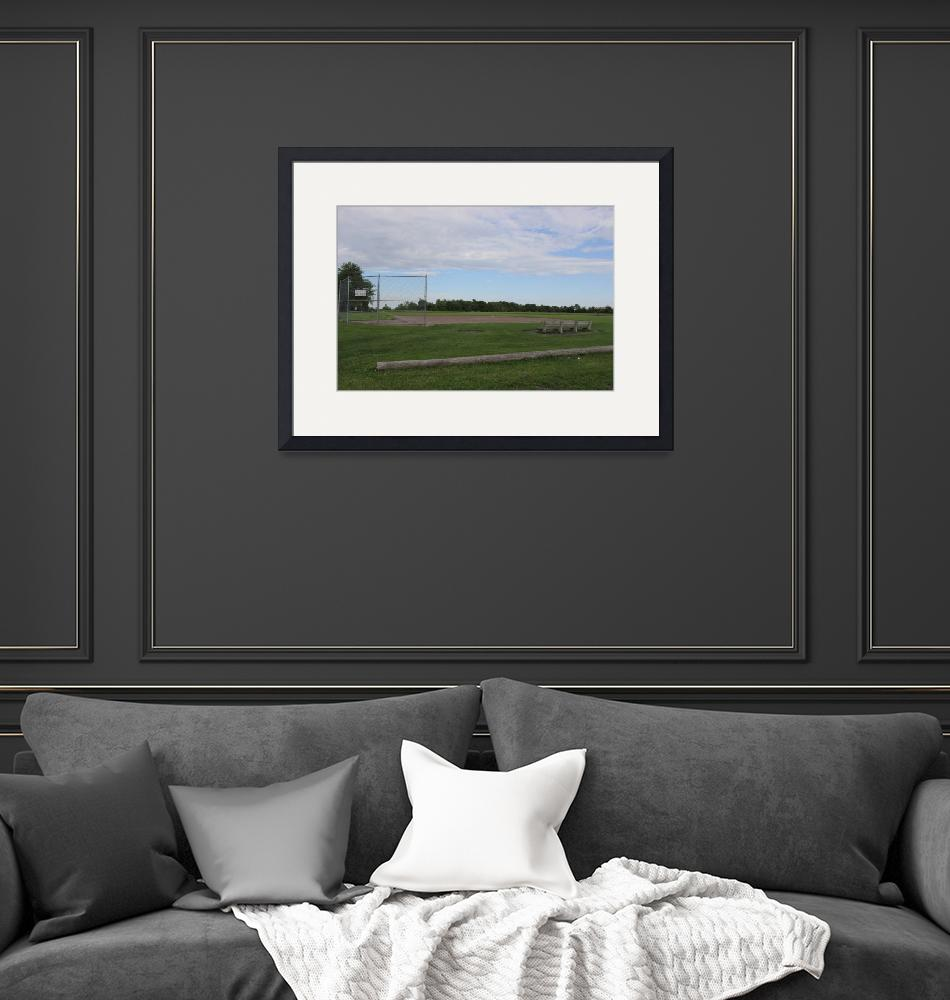 """""""Baseball Field""""  (2013) by EdCyrPhotography"""