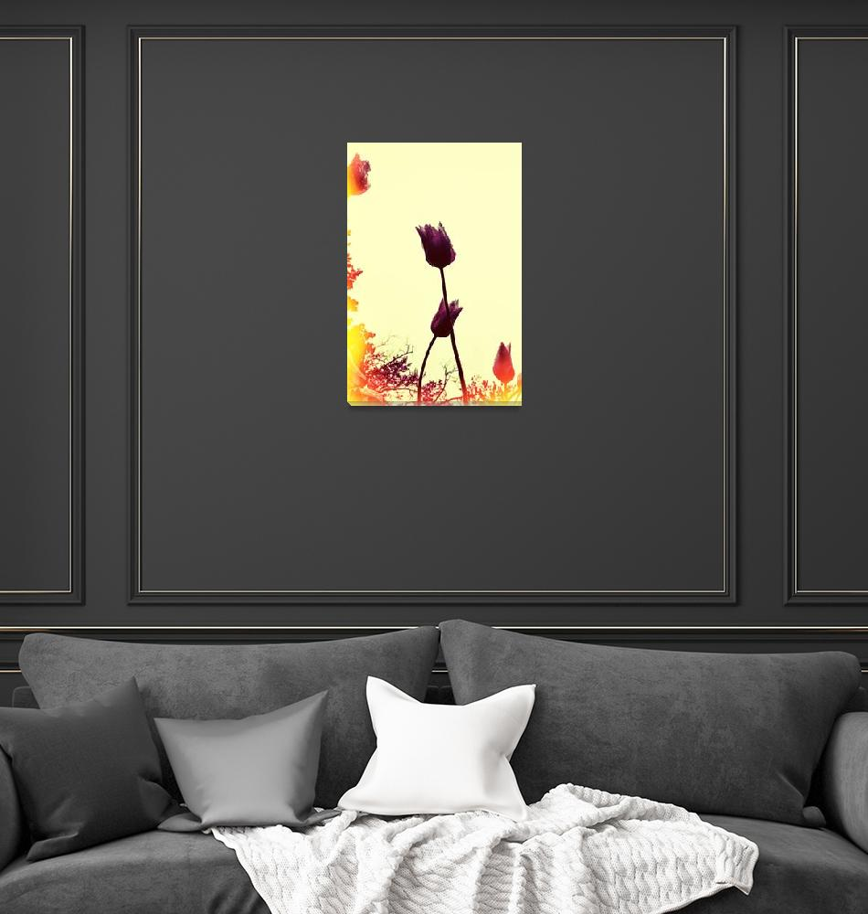 """""""Dancing Tulips""""  (2015) by Michelle1991"""