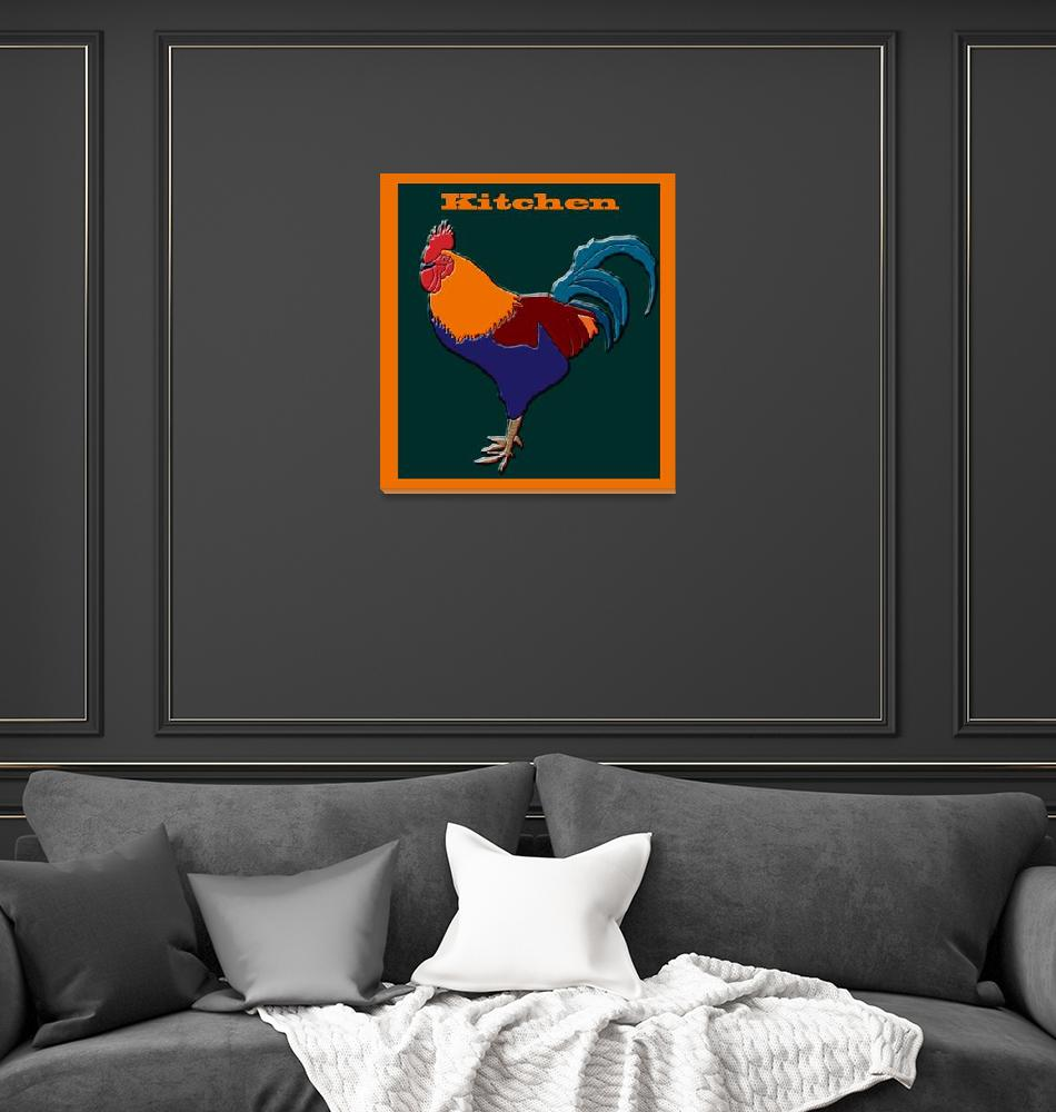 """Kitchen Sign""  (2013) by KateFarrantArtist"