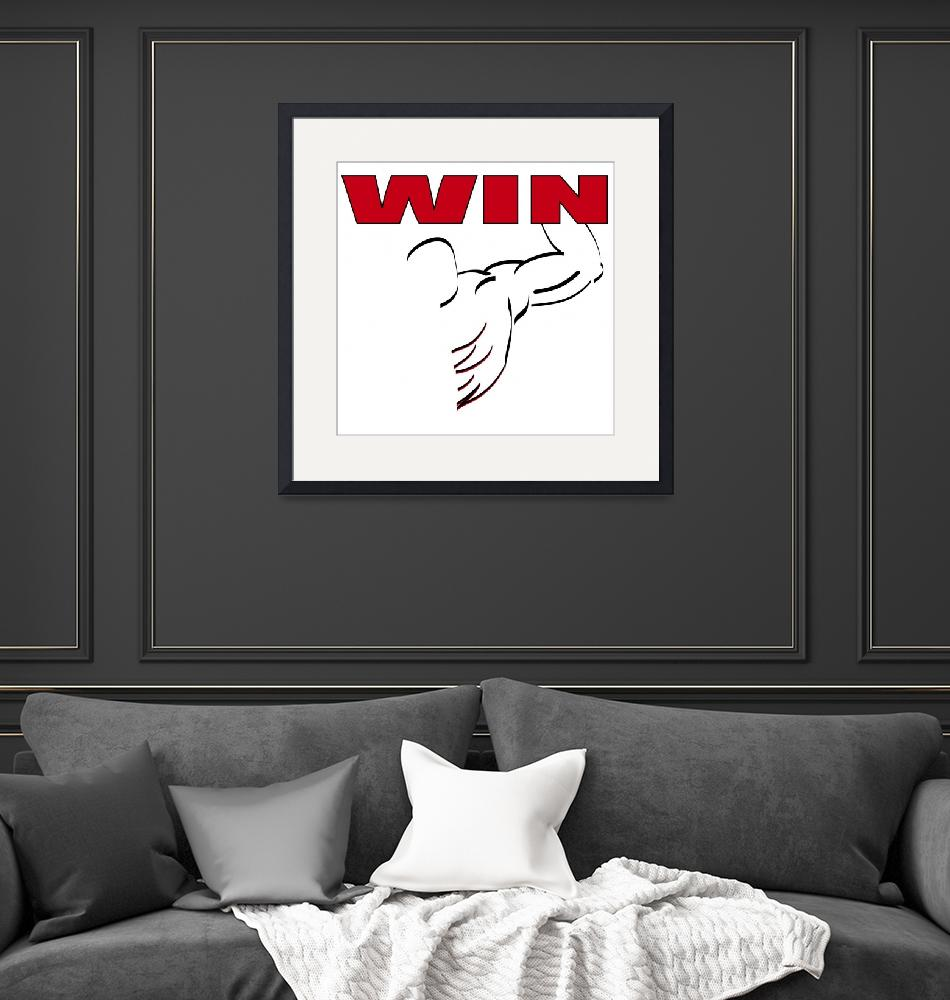 """""""WIN""""  (2010) by NorcalArtist"""