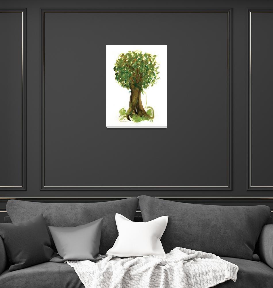 """""""Fortune Tree No4""""  (2011) by MarinaKanavaki"""