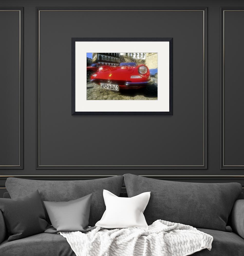 """""""Red Ferrari""""  (1984) by JoaoPonces"""