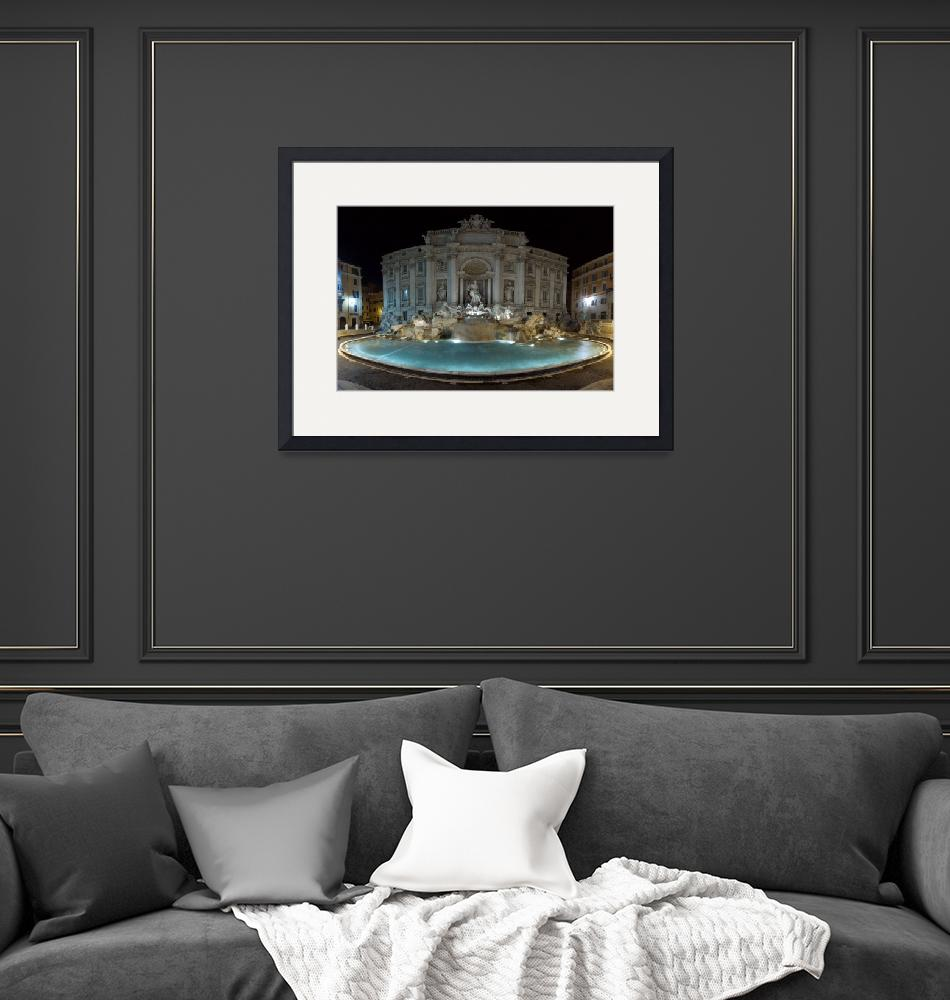 """""""Trevi Fountain""""  (2007) by immauss"""