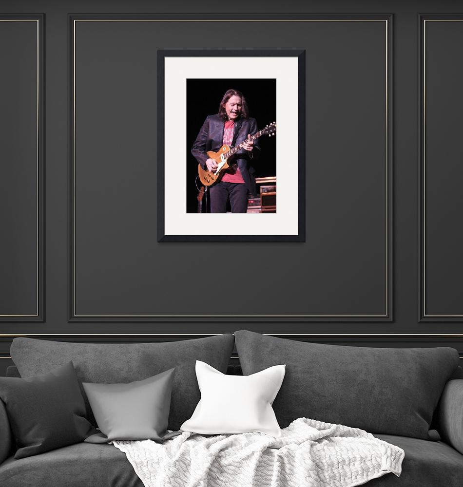 """""""Guitarist Robben Ford""""  by FrontRowPhotographs"""