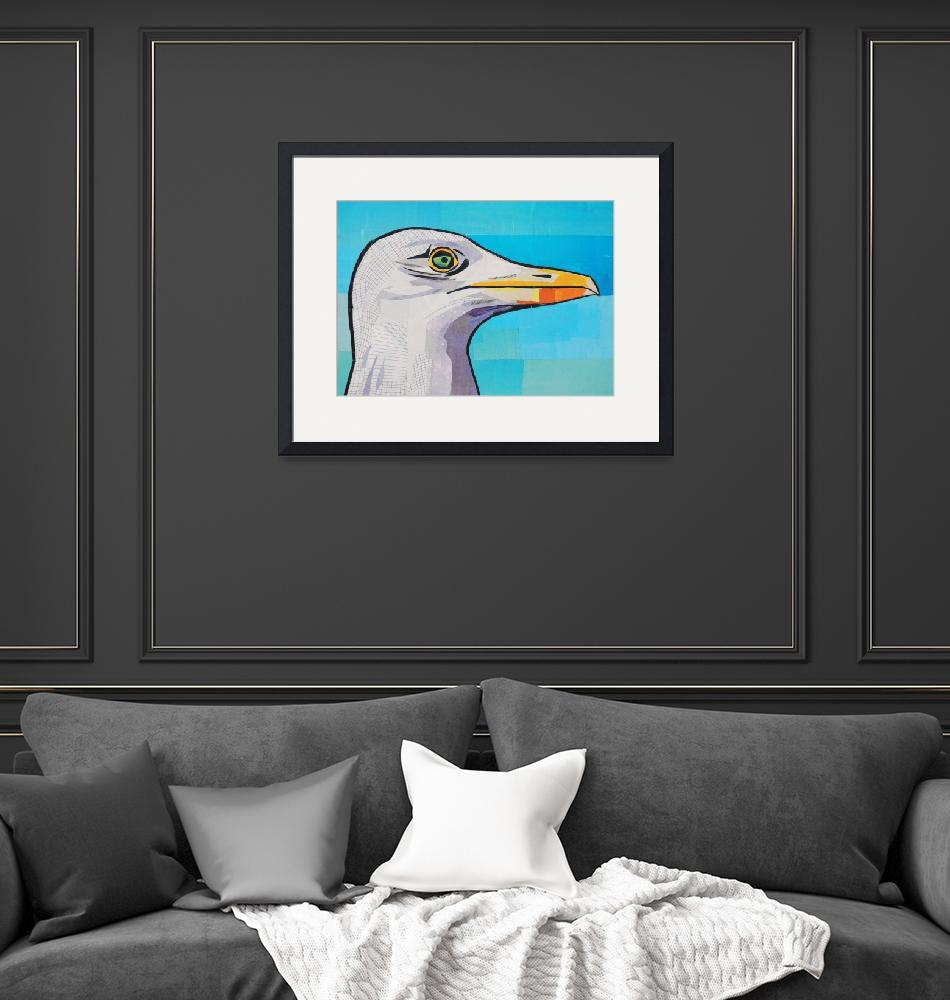 """""""Oh Wise Seagull""""  (2015) by megancoyle"""