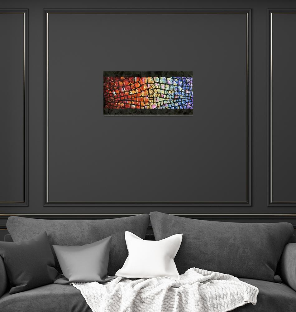 """""""Abstract """"Glitz and Glamour""""""""  (2015) by modernhouseart"""