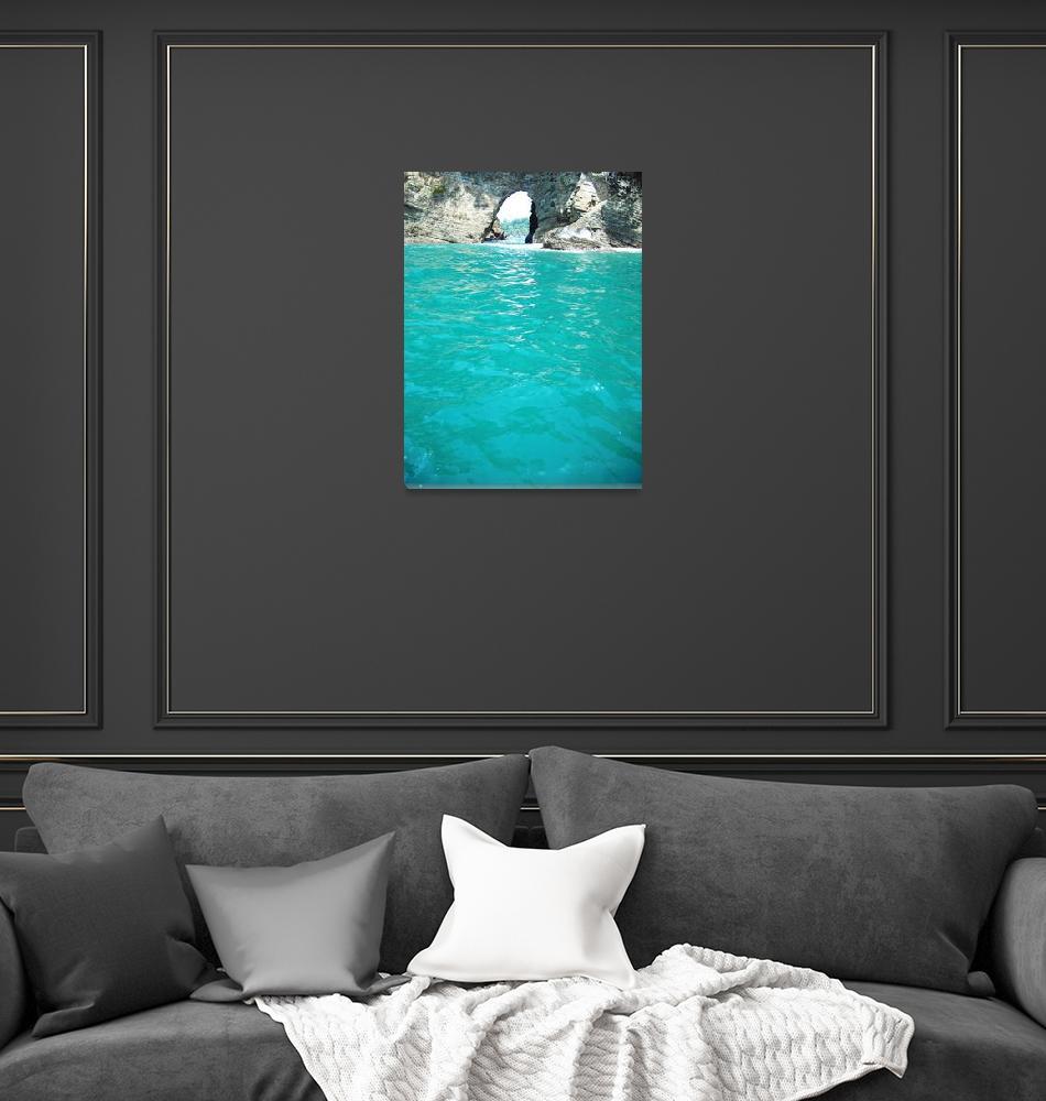 """Aqua Portal""  (2011) by SharonWagner"