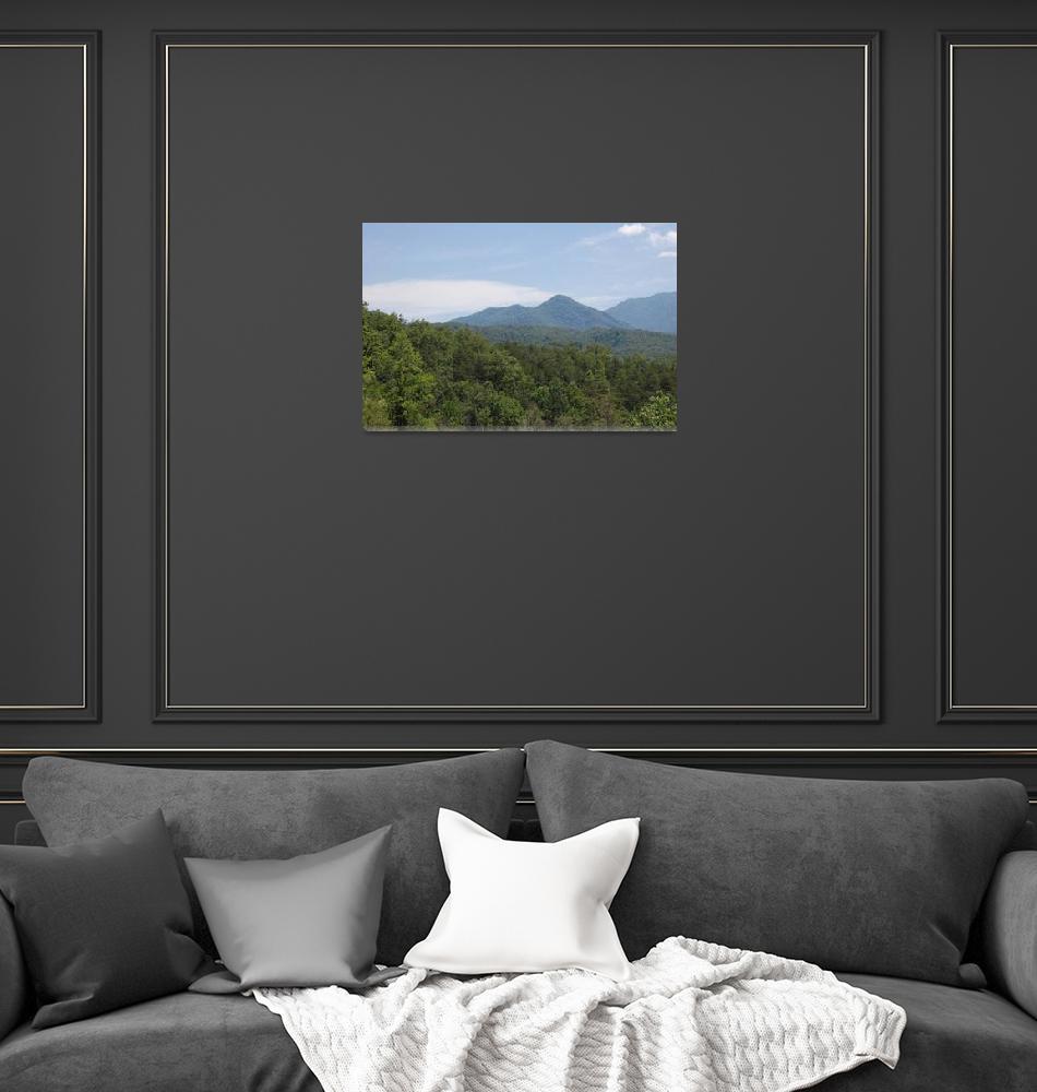 """Gatlinburg Mountains 2""  (2008) by kwalenga"