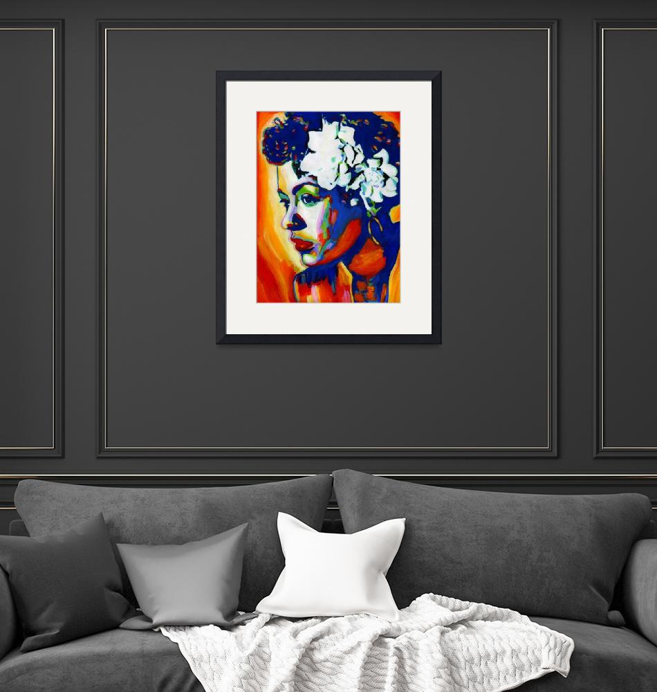 """""""Lady Day-Billie Holiday""""  (2009) by Vel"""