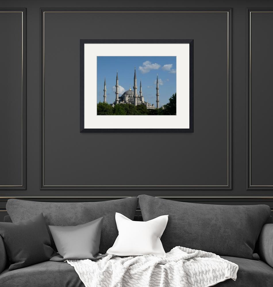"""""""The Blue Mosque, Istanbul, Turkey""""  (2009) by raftergood"""