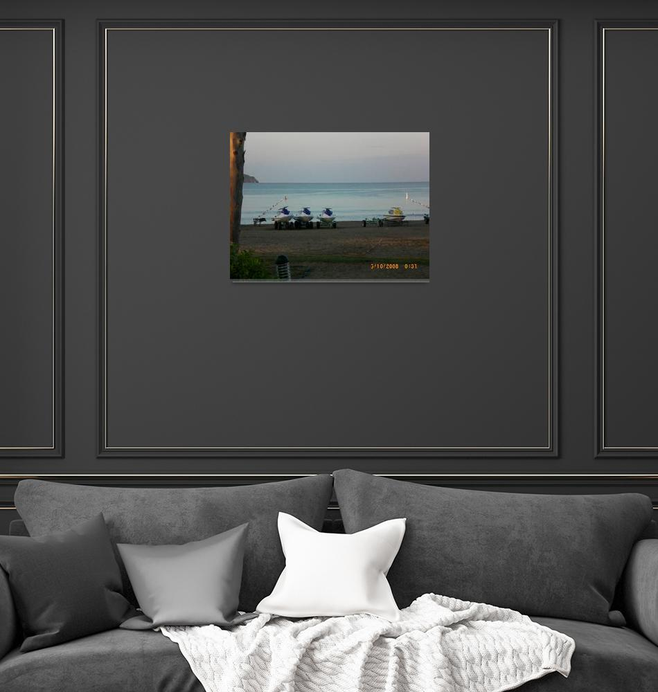 """Sun sea and sand 8""  (2008) by jadavision"