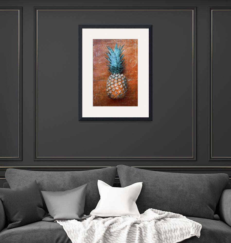 """ORL-5288-2 Pineapple Country Style II""  by Aneri"