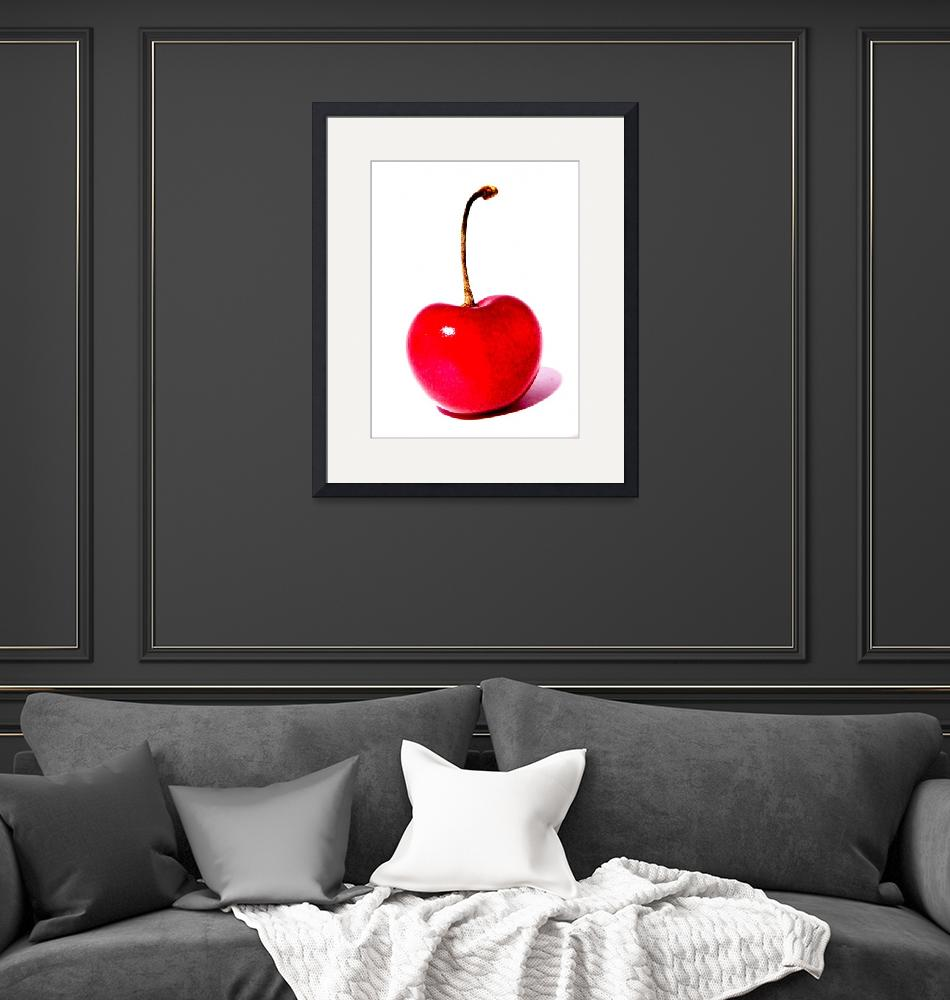 """""""Cherry red passion""""  (2011) by fotonico"""