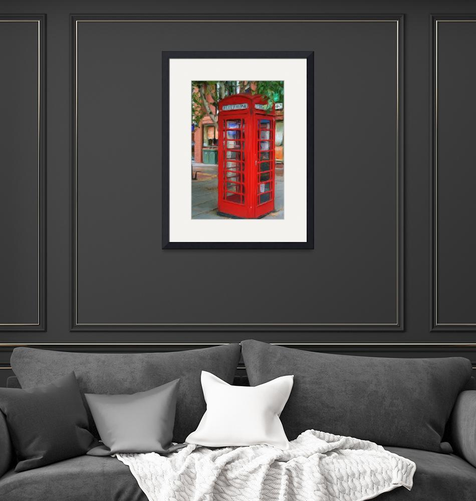 """""""London Phone Booth""""  (2012) by srkienle"""