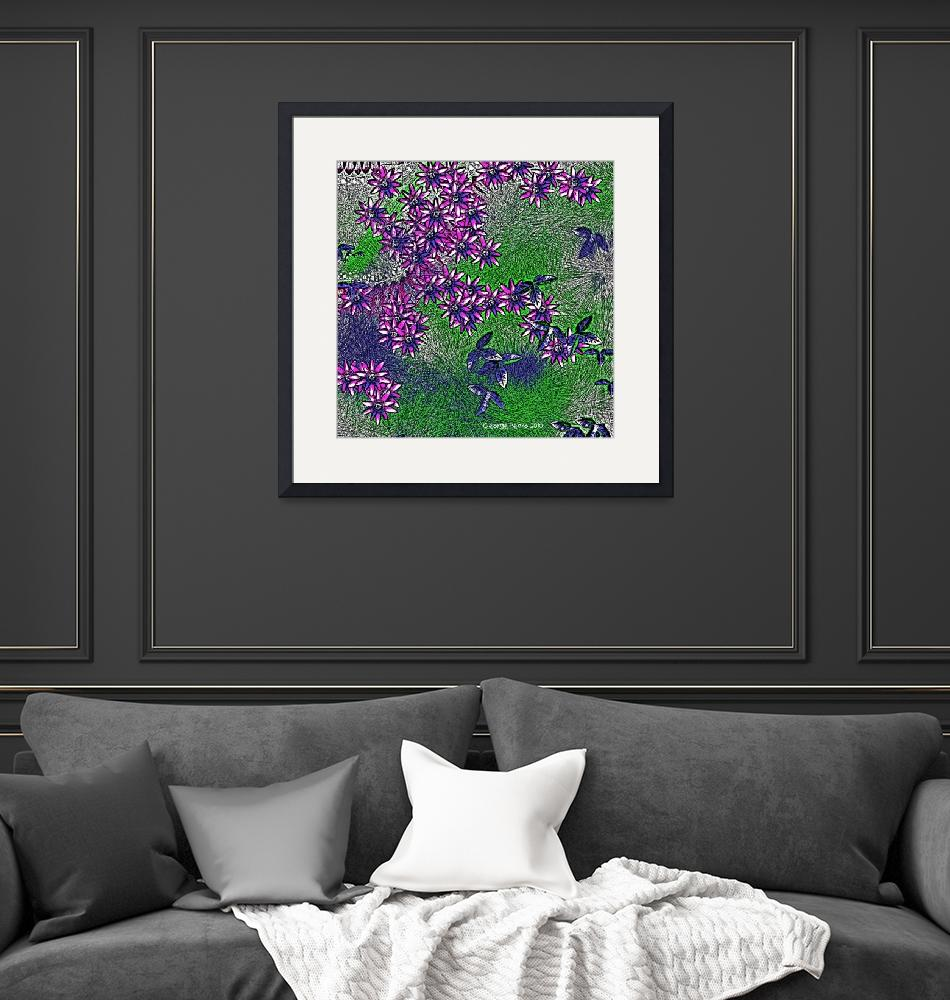 """""""Flowers in Spring""""  (2010) by gparts"""