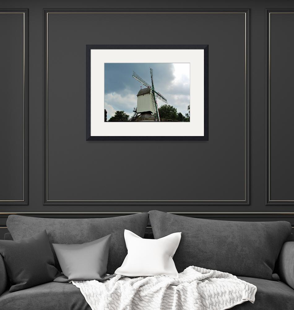 """Belgium Windmill""  (2005) by JoaoPonces"