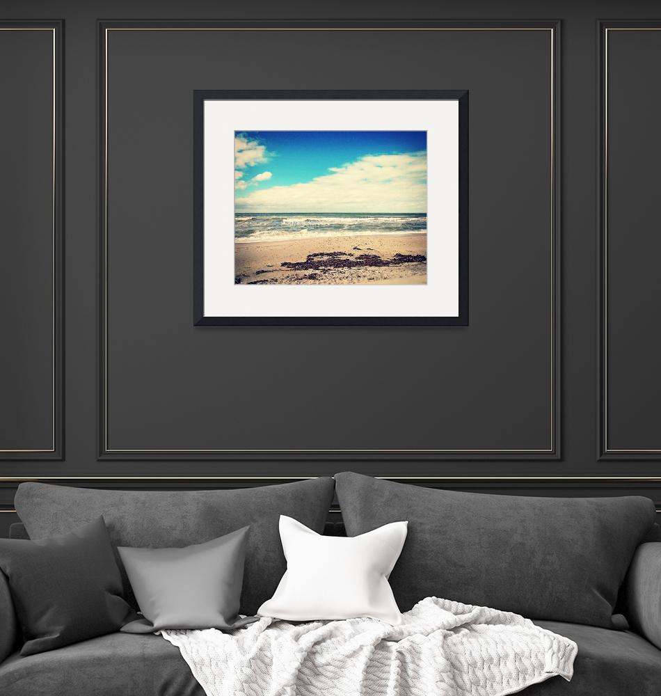 """""""Vintage Finish - Surroundings - Day at the Beach""""  (2021) by ChrisAndruskiewicz"""