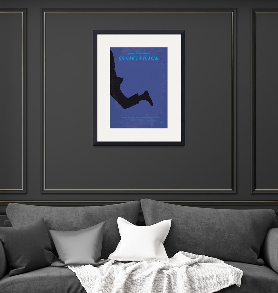 """""""No592 My Catch Me If You Can minimal movie poster""""  by Chungkong"""