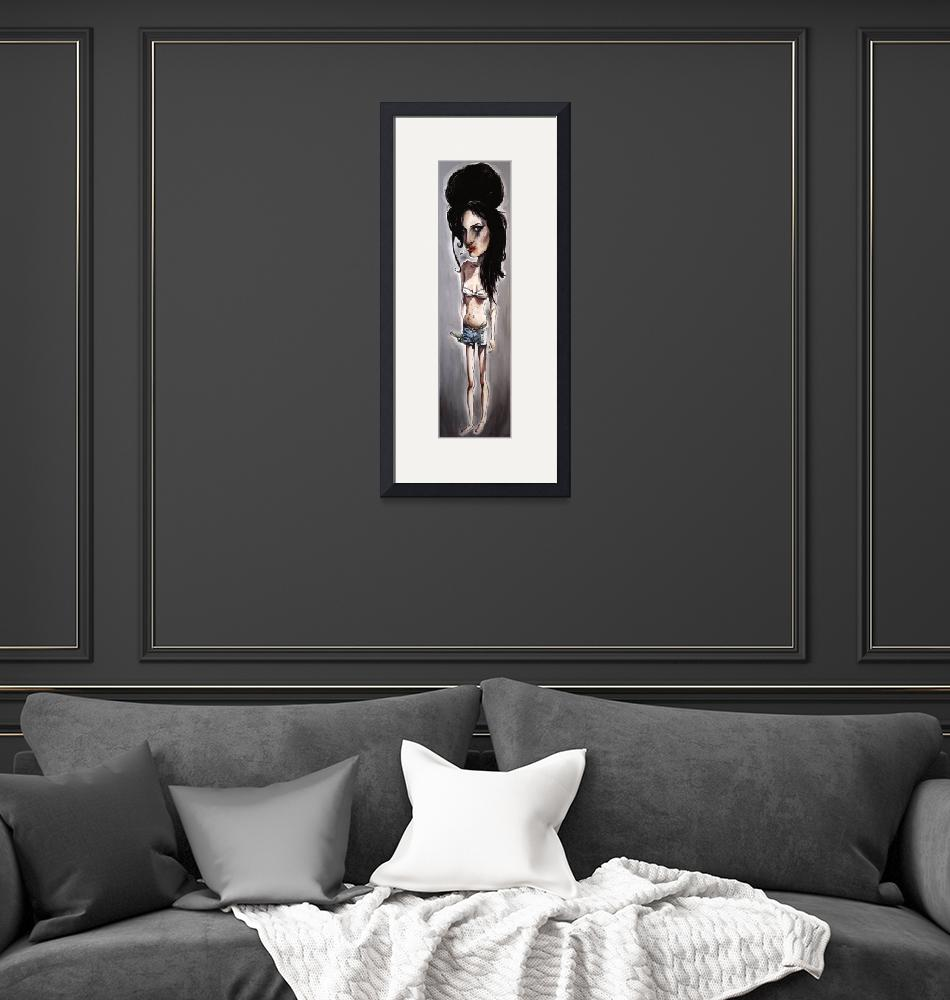 """""""Amy Winehouse""""  (2008) by pmpinto"""