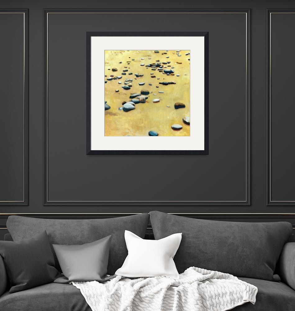 """""""Pebbles on the Beach""""  (2013) by Michelle1991"""