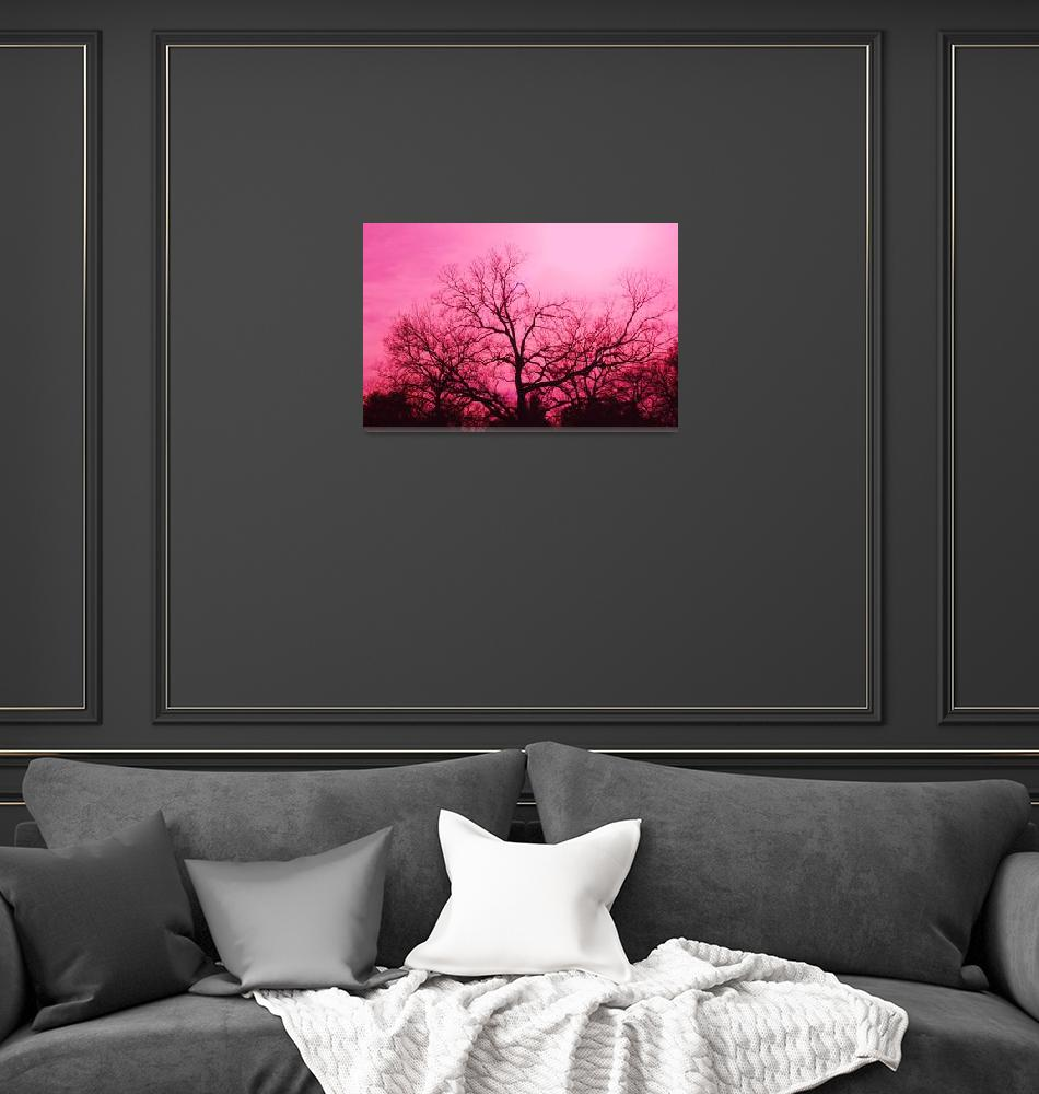 """""""Ponderously Pink""""  (2012) by DigitalCreations"""