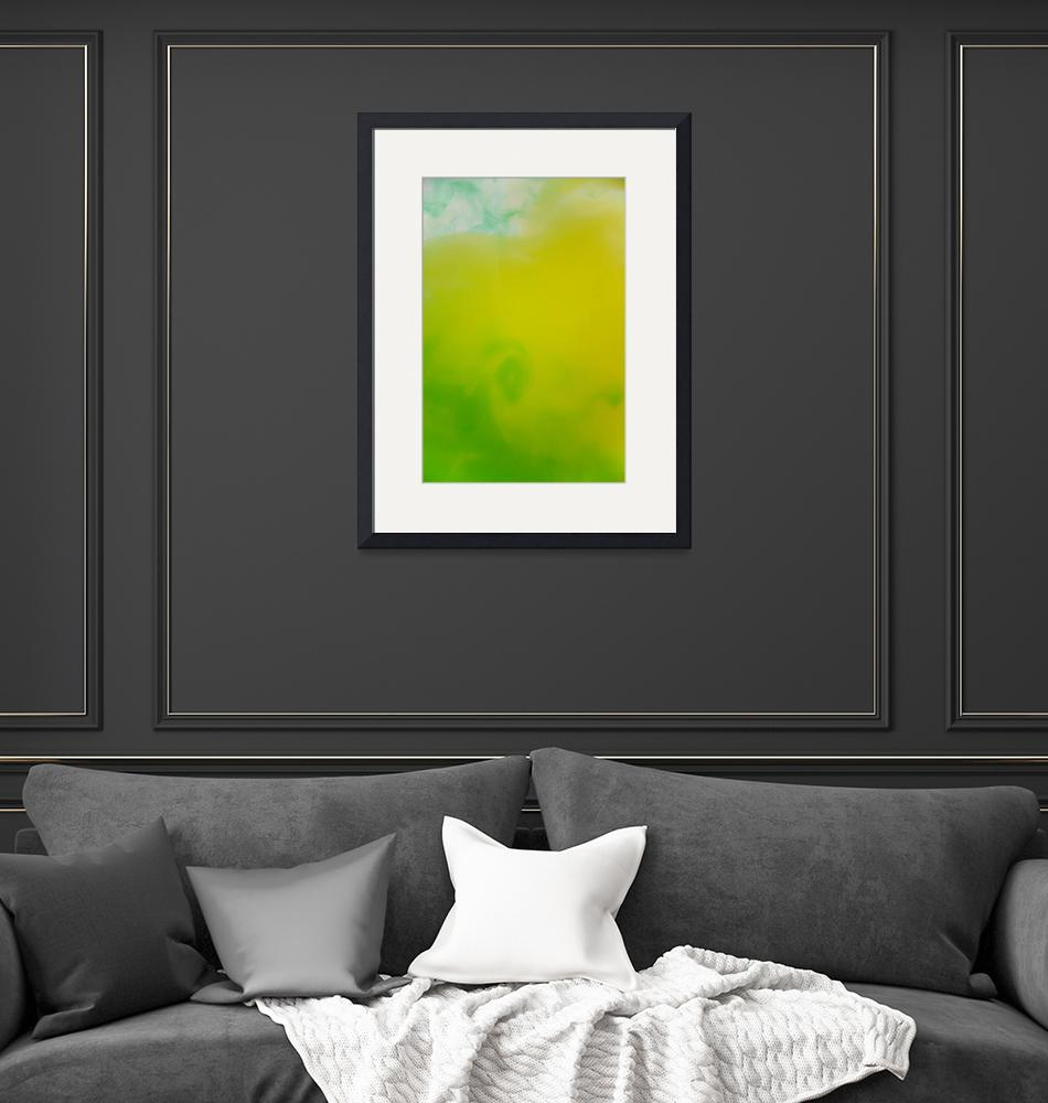 """""""green and yellow""""  (2009) by AlenaZ"""