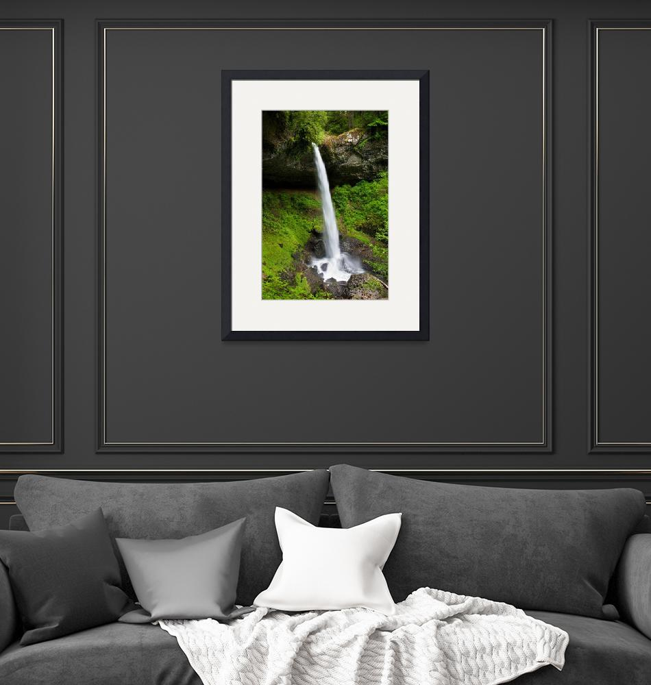 """""""North Silver Falls""""  (2010) by pbk"""